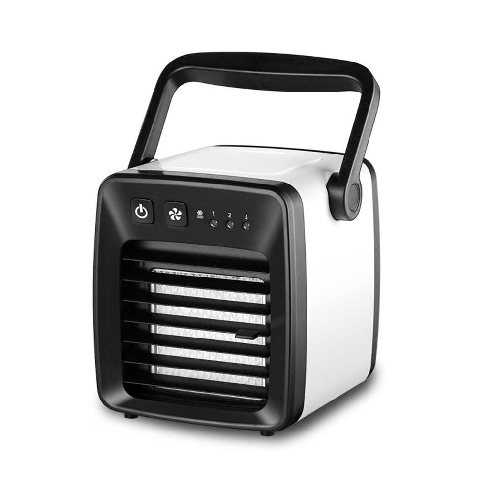 Mini ventilateur de climatiseur USB refroidisseur d'air portable évaporatif personnel le moyen facile et rapide de refroidir n'importe quel bureau à domicile