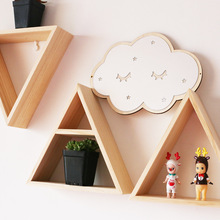 Nordic Style Wooden House Kids Room Decoration Scandinavian Style Boy Room Decor Nordic Decoration For Kids Room