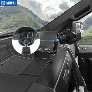 Image 3 - MOPAI Auto GPS Del Telefono Mobile Ipad Staffa di Supporto Del Cellulare Del Basamento Adesivi per Ford F150 2015 Up Interni Accessori Auto Car Styling