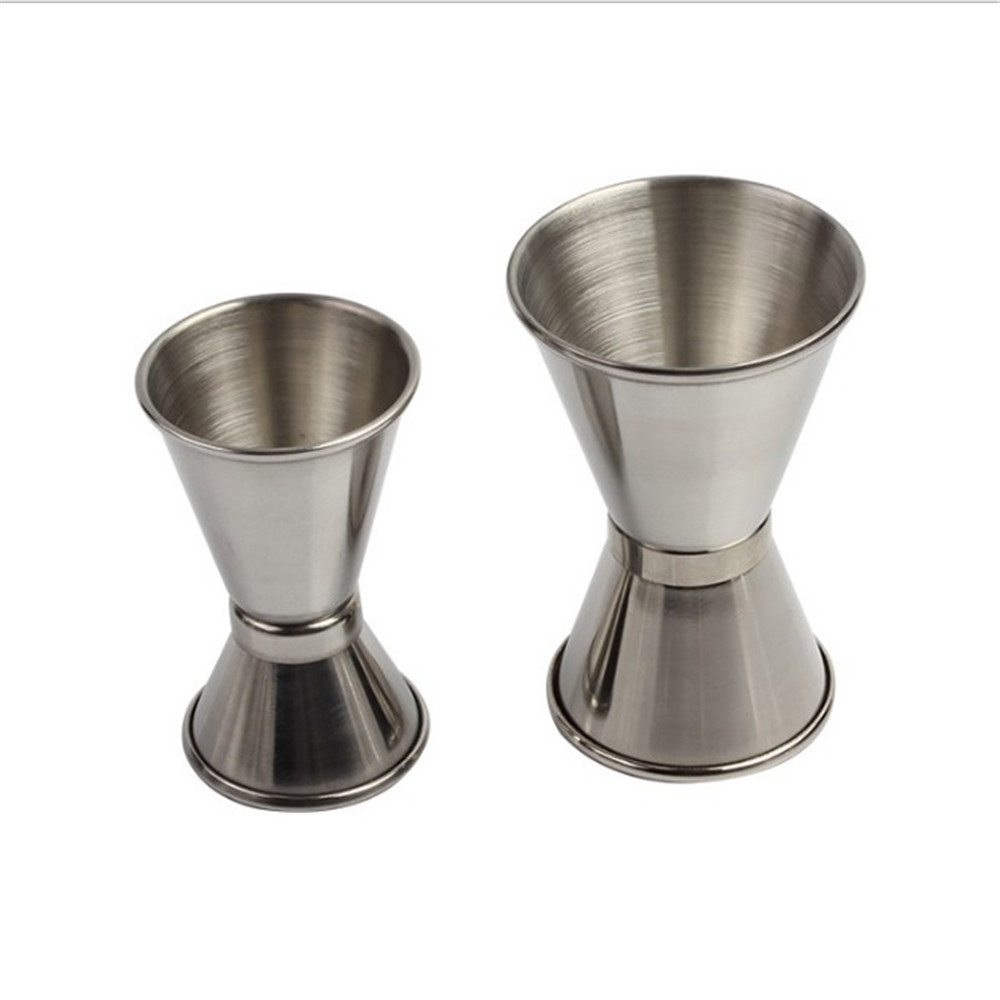 1PCS Measure Cup Made Of Stainless Steel Material For Measuring Cocktail And Wine