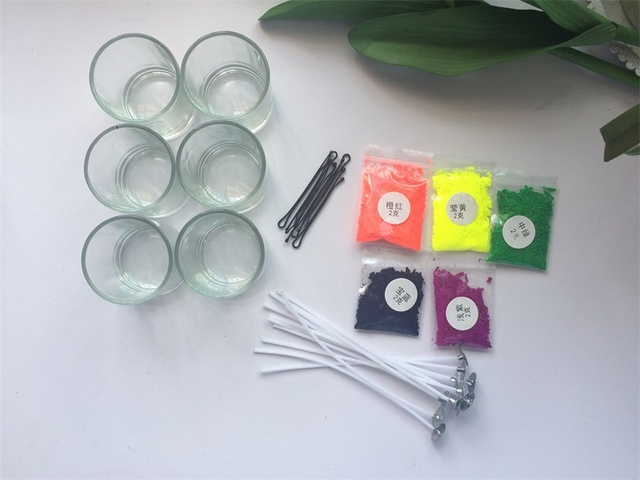 Handmade Scented Candles Supplies Kit