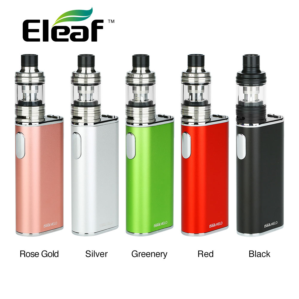 Original 60W Eleaf IStick Melo TC Kit with 2ml Melo 4 Tank Atomizer & IStick Melo TC 4400mAh Battery Powerful Output E-cig Kit сменная панель для eleaf istick 100w tc черная