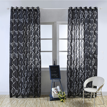 hot deal buy luxury fashion style semi-blackout curtains kitchen curtains window living room living room curtain panel jacquard fabrics door