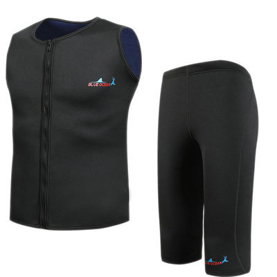 5dd0906b011 neoprene 2mm wetsuit triathlon suits spearfishing surf two piece diving  suit rash guard wet suit