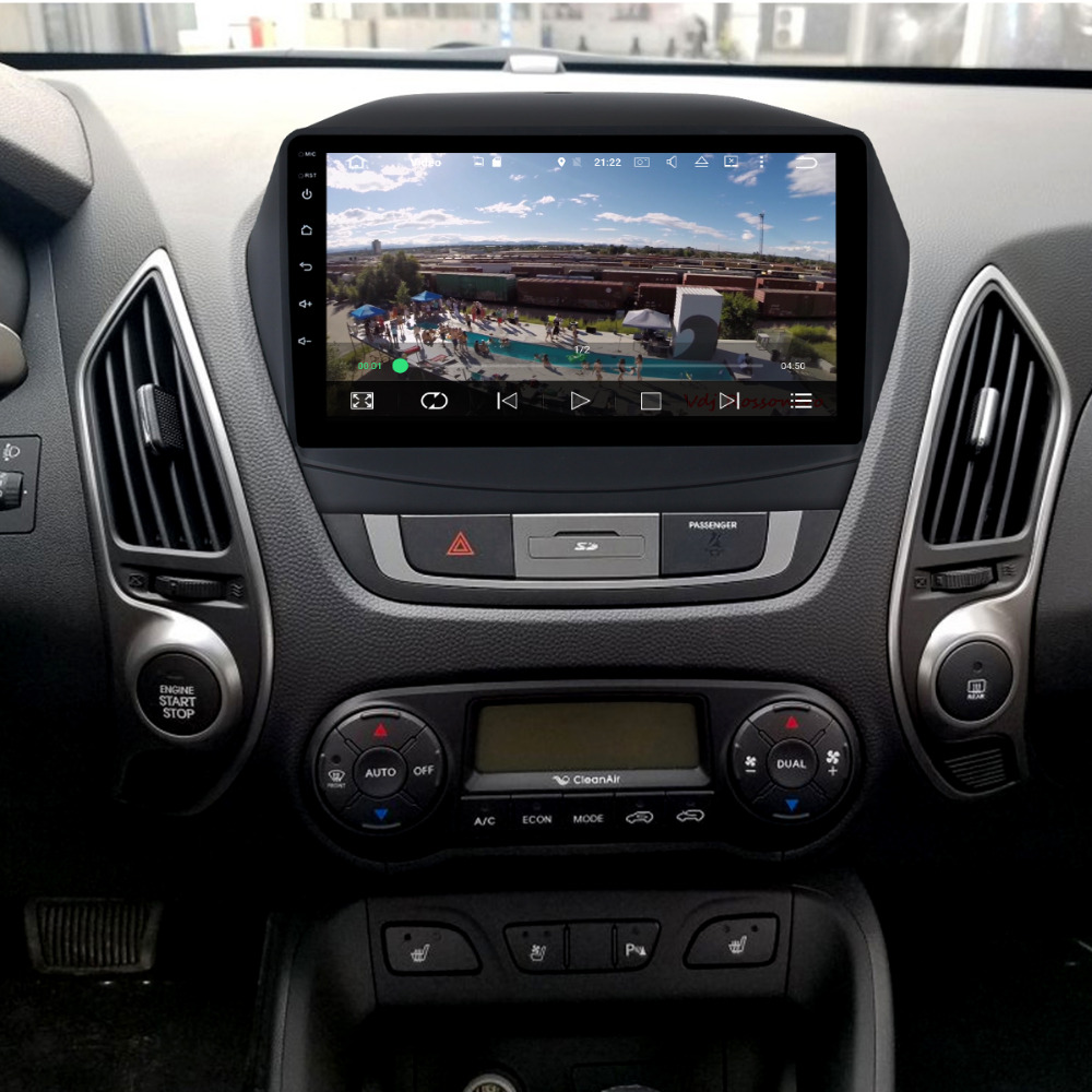 Dasaita 2 din car radio for IX35 for Hyundai IX35 Tucson 2DIN android for IX35 radio cassette recorder 2 din with navigation farcar s160 hyundai ix35 на android m047