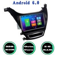 For Hyundai Elantra Avante I35 Android 6 0 Octa Core Car Radio Gps With 2G RAM