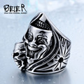 BEIER New Design Cool Punk Ring For Man Fashion Party Biker Jewelry BR-Q023