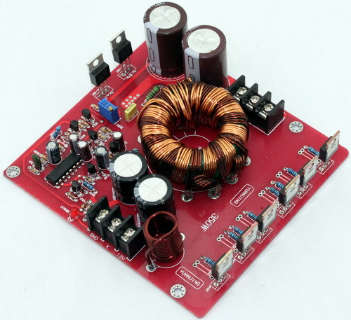 DC12V boost power supply 350w for LM3886 TDA7294 TDA7293 Power amplifier board car amplifier Voltage adjusted 30%