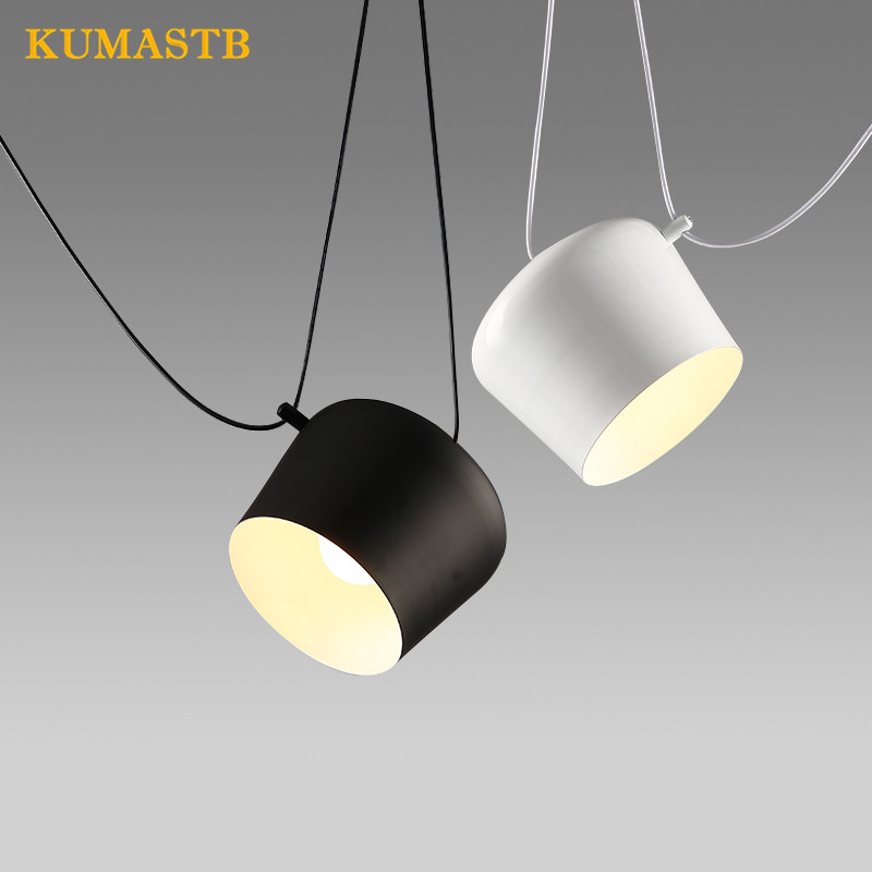 Modern Simple Bedroom Droplight Restaurant Bar Coffee Shop Light Fixture Aluminium Hanging Drum Pendant Lamp плед сruise welcom