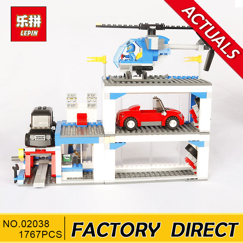 Lepin 02038 1767pcs Building Block Compatible with City Series 60097 The City Square toys & hobbies for gift Models building toy dhl lepin 02038 1767pcs city series the city square education building blocks bricks toys compatible 60097 in stock