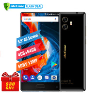 Ulefone MIX 13MP Dual Camera Mobile Phone 5 5 Inch MTK6750T Octa Core Android 7 0