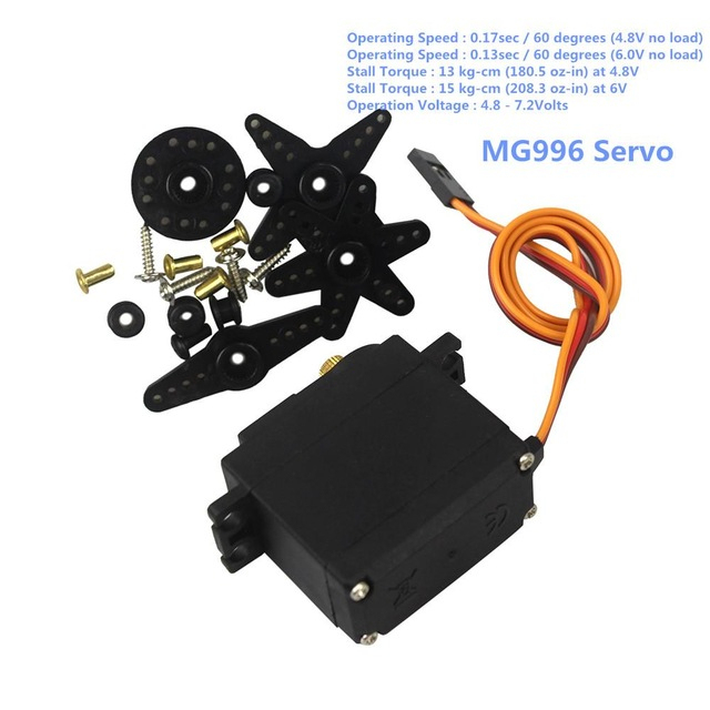 Tower Pro MG996R MG996 Metal Gear RC Servo High Speed & Torque RC CAR 1/8