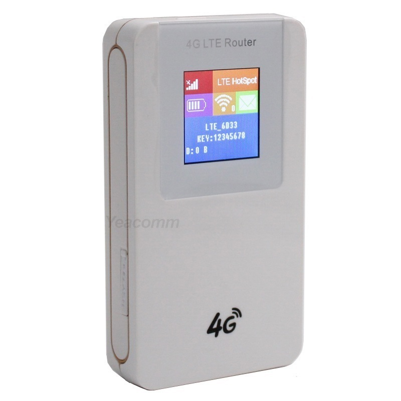 Free Shipping! 4100Mah Power Bank Unlocked Portable 3G 4G LTE CAT4 150Mbps mini WIFI hotspot WIFI router with sim card slot