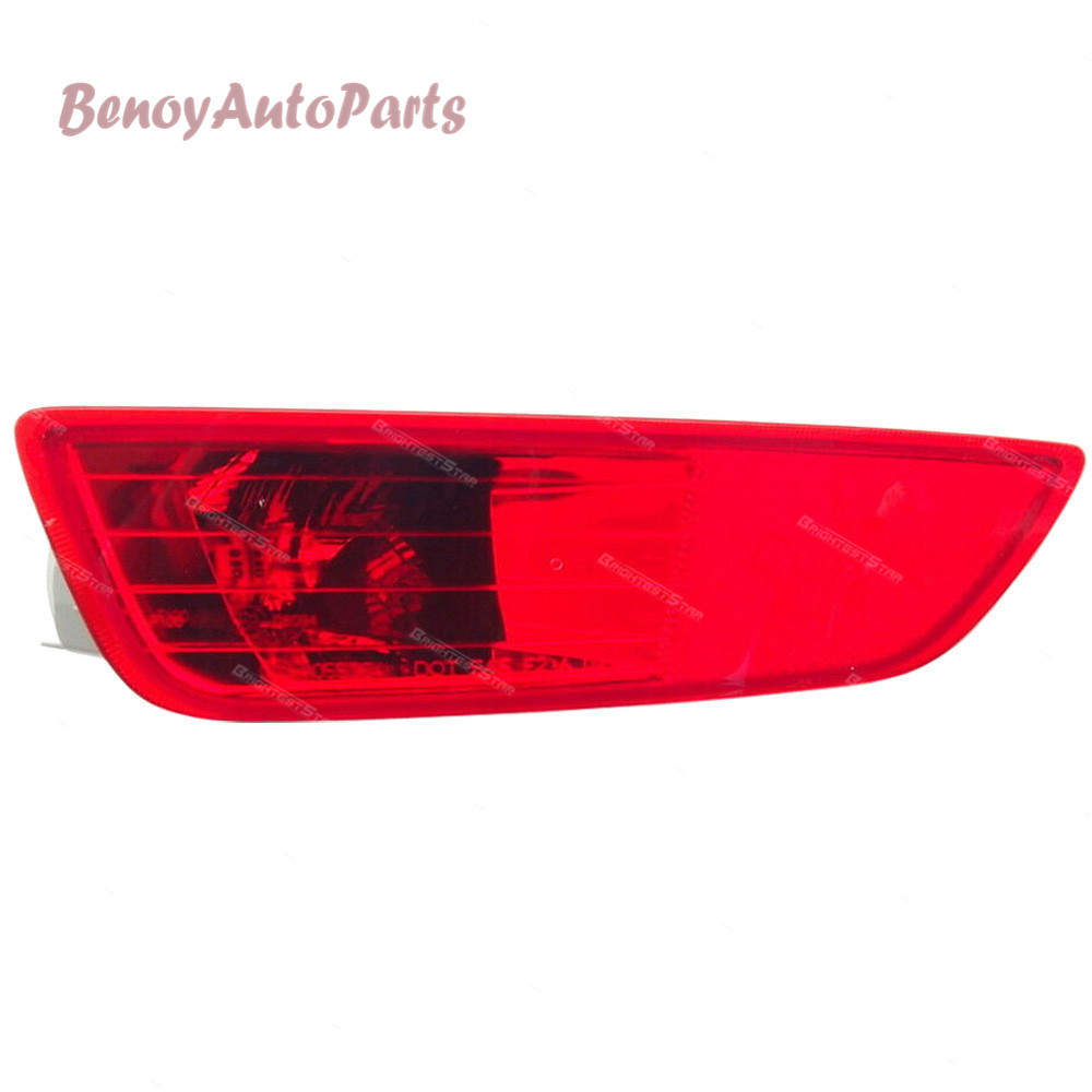 30763323 30763322 Rear Bumper Tail Light Lamp Left Right Cover Reflector For Volvo XC60 2008 2009