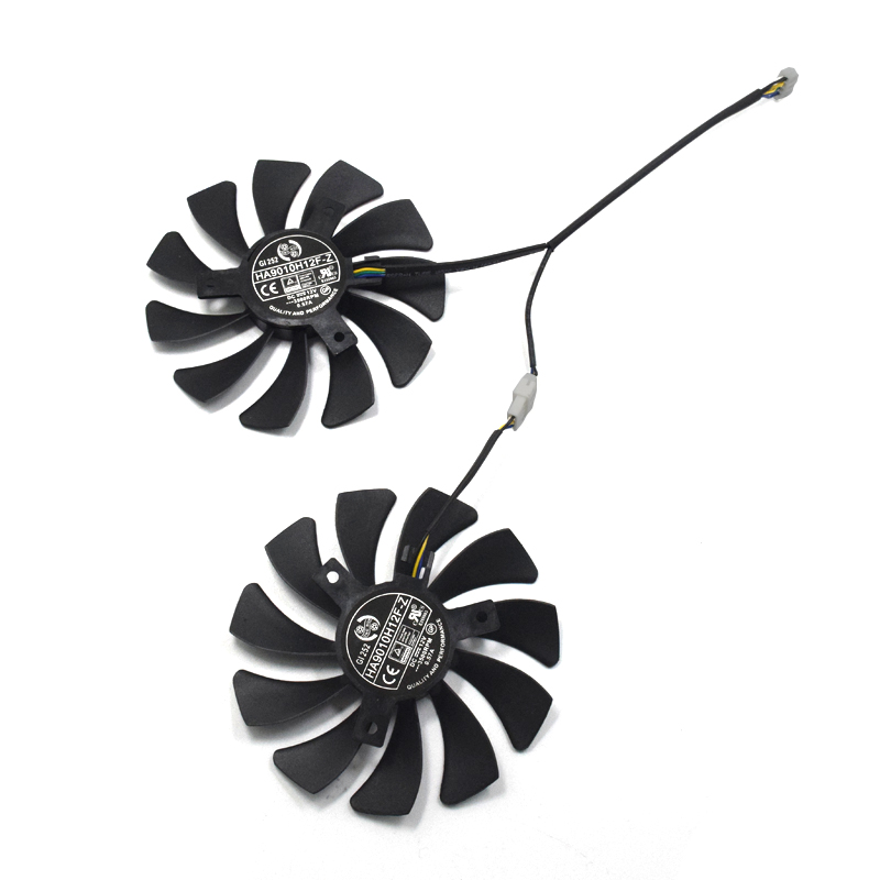 DC 12V 85MM HA9010H12F-Z 4Pin Cooler Fan Replacement For MSI GTX 1060 6G GTX 960