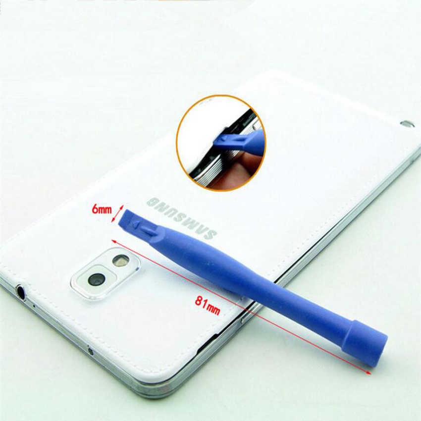 9 في 1 لإصلاح الهواتف الجوالة أداة كيت Spudger حدق افتتاح أداة LCD إصلاح أدوات 0.8 ملليمتر مفك لإصلاح فون سلسلة