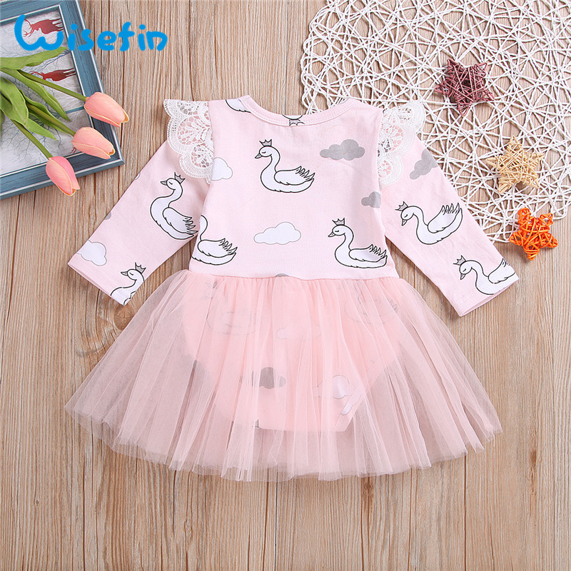 a3a92e9f7900 Detail Feedback Questions about Wisefin Swan Newborn Girl Dresses ...