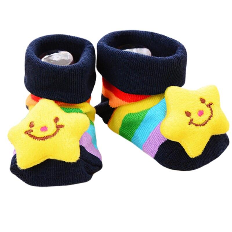 2019 Lovely Baby Cotton Socks For Newborn Animal Cartoon Gift Infant Winter Spring Baby Boys Girls Kids Cute Floor Anti-slip