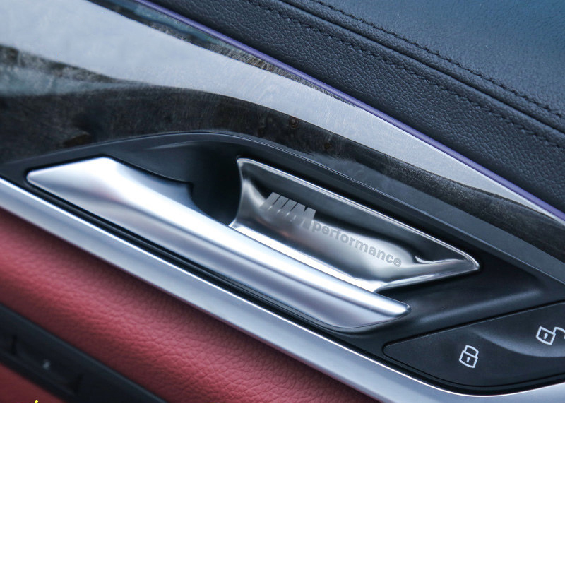 Lsrtw2017 Durable Stainless Steel Car Inner Door Bowl Cover for Bmw X3 2018 2019 2020 in Interior Mouldings from Automobiles Motorcycles