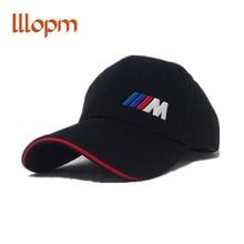 lllopm car stlying m emblem Baseball Cap hat For BMW E46 E39 E90 E60 E36 F30 F10 F20 E38 E91 E53 E70 X5 X3 X6 M M3 M5 2 Series