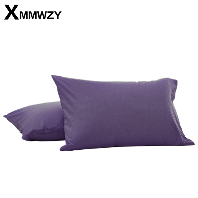 Modern Style Envelope Type Pillowcase Solid Sanding Pillow Case For Healthy Standard Polyester Pillowcases 50*75cm/50x90cm Size