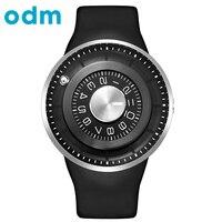 ODM Топ Люксовый Бренд Силиконовый Ремешок Креативный Дизайн Кварцевые Мужские Часы Водонепроницаемые Наручные Часы DD159