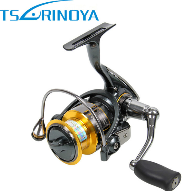TSURINOYA FS2000 Spinning Fishing Reel 10BB 5.2:1 Metal Spool Carp Coil for Trolls Carretilhas De Pescaria Molinete Para Pesca