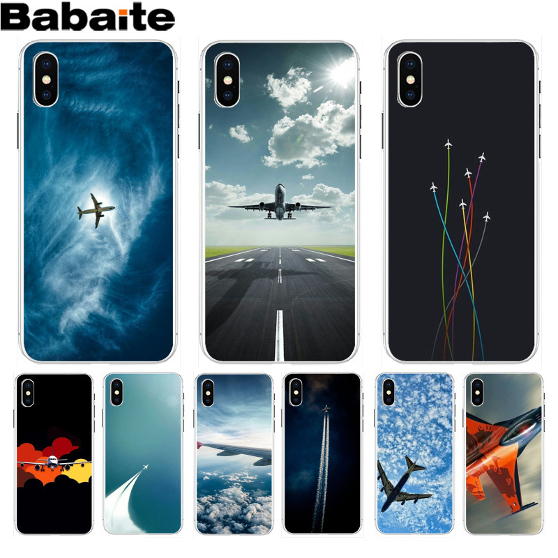 Aircraft Airplane fly travel cloud Sky Case for iphone XS