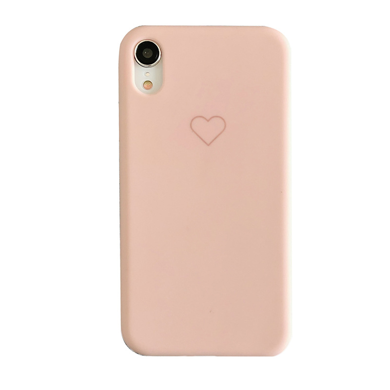 Image 5 - Plain Phone case Soft Silicone fitted case For iphone XR XS MAX 6 7 8 Plus dirt resistant  anti knock with free strap gift Hot-in Half-wrapped Cases from Cellphones & Telecommunications
