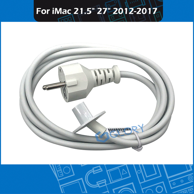 "New A1418 A1419 1.8M Power cord cable for iMac 21.5"" 27"" Charger Adapter cable Replacement 2012 2017"