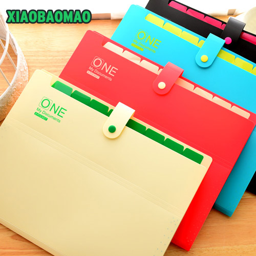 good quality Brand New Waterproof Book A4 Paper File Folder Bag Accordion Style Design Document Rectangle Office Home School