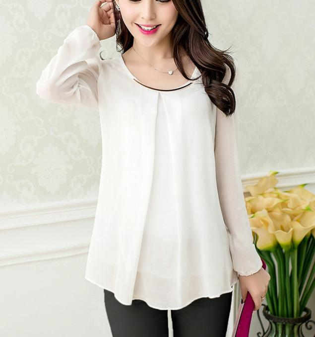 Popular Sheer White Shirt-Buy Cheap Sheer White Shirt lots from ...