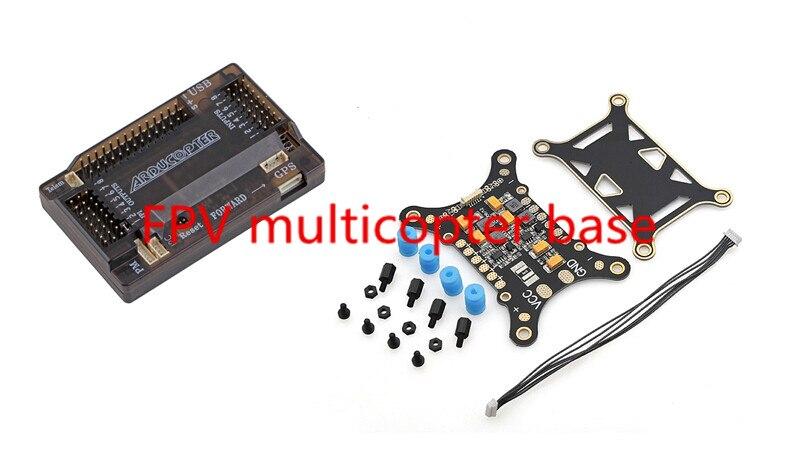 US $48 51  NEW APM/PIXHAWK/PX4 Five in One PCB super shock absorber  integrating board+ARDUPILOT MEGA APM 2 8 Flight Controller Board-in Parts &