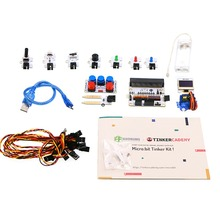 Micro: bit tinker kit, 브레이크 아웃 보드 octopus adkeypad 교실 교육 및 diy 초보자 용 (마이크로 비트 보드 제외)
