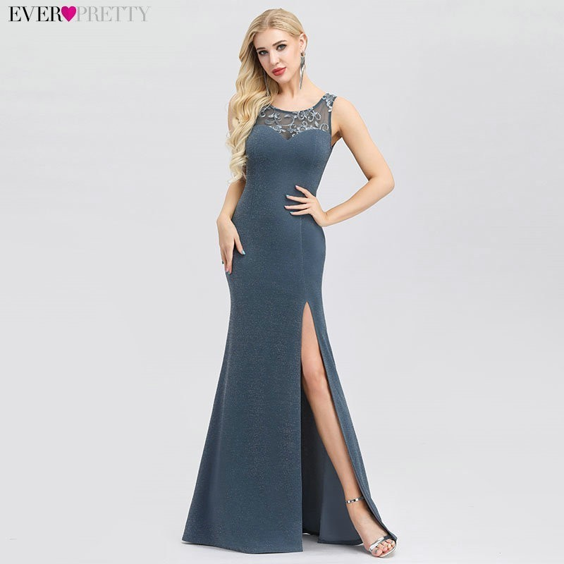New Arrival Fashion Long Evening Dresses Robe De Soiree Ever Pretty EP00944DN Elegant Formal Dress For Party Mermaid Dress 2020