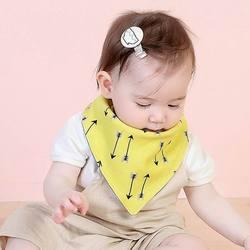 Детские хлопковые нагрудники для мальчиков и девочек повязки нагрудники младенческой слюны малышей Burp Полотна
