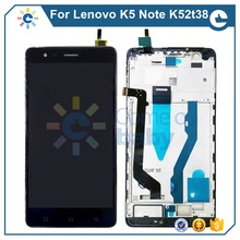 Для Lenovo K5 Note K52T38 K5Note ЖК-дисплей + сенсорный экран дигитайзер в сборе с рамкой для замены для Lenovo K5Note