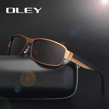 fd1f4807d8dd Олей брендовые классические солнцезащитные очки Полароид Модные мужские  женские ...