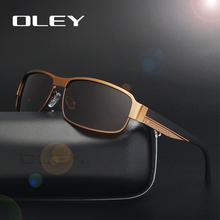 OLEY Brand Classic Polarized Oculos fashion Men women Sunglasses UV400 Protection male Driving Eyewear Y1606