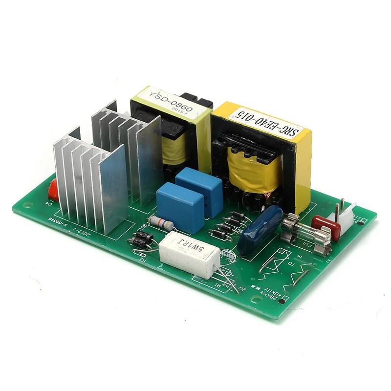 Nettoyeur ultrasonique de transducteur de nettoyage de 100 W 28 KHz haute performance + panneau de conducteur de puissance 220VAC pièces de décapant ultrasonique - 5