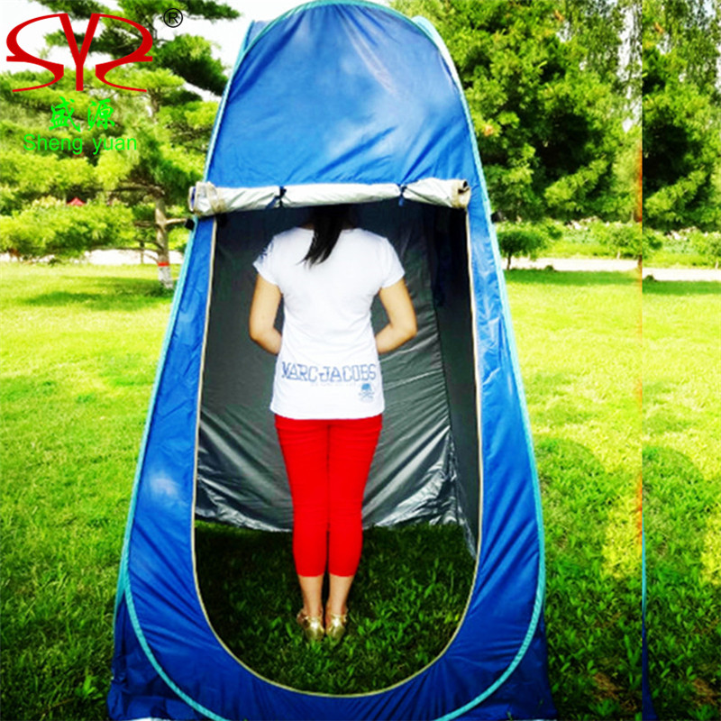 Shower tent Portable waterproof Large Outdoor Bath Change Clothes Tent shower Fishing Mobile Toilet changing tents portable shower tent outdoor waterproof tourist tents single beach fishing tent folding awning camping toilet changing room