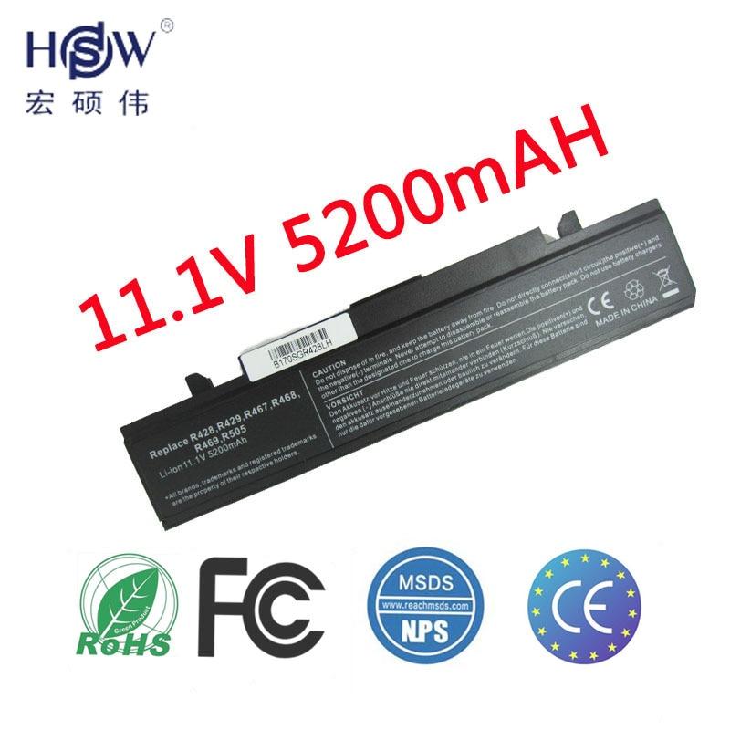 HSW Ordinateur Portable batterie pour samsung Rv408 Rv508 Rv411 Rv415 Rv511 Rv515 Rv510 R420 R428 R430 R439 R429 R440 R505 R522 R523 bateria