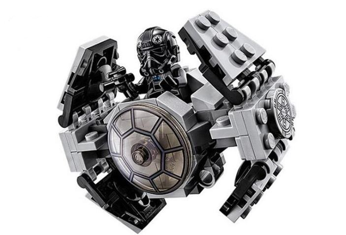 Lepin 05014 Star Wars Micro fighter Series TIE Advanced Prototype building block kids DIY Bricks Toys gift Compatible With 75128