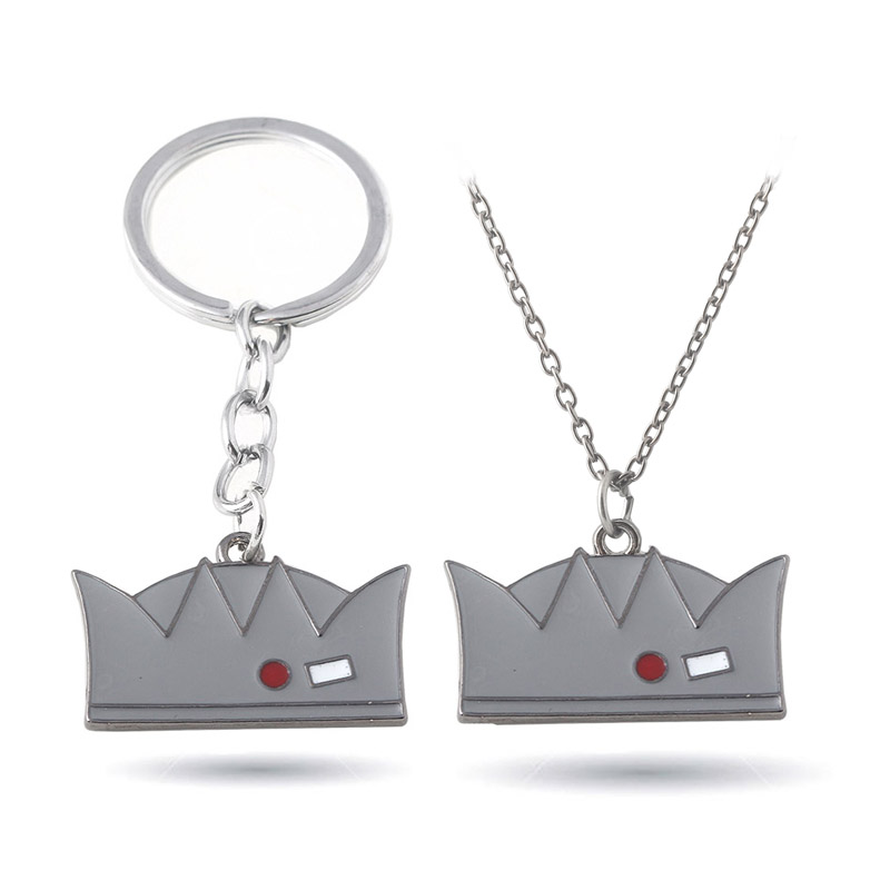 HOT Movie Riverdale necklaces Grey Enamel Crown Pendants High Quality metal pendant Accessories Woman Man jewelry