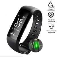 Pulsometer Watches Blood Pressure Smart Bracelet R5max Smart Watch Activity Monitor Vibrating Alarm Clock m2s Smart Band xiomi