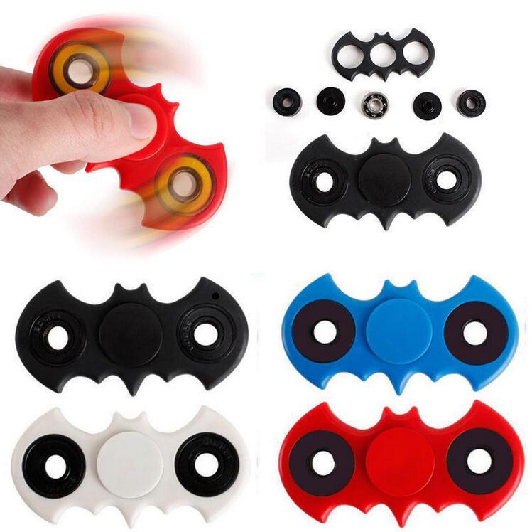 In Stock!!! Batman Style Figit Bat Fidget Hand Spinner Focus EDC Stocking Stuffer Toy 300pcs/lot