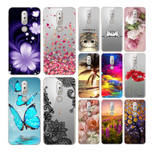 Goterfly For Nokia 7.1 case cover silicone TPU cartoon for 5.84 inch colorful nokia phone
