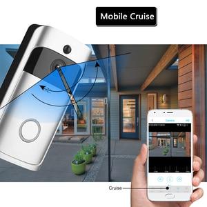 Image 3 - WIFI פעמון חכם IP וידאו אינטרקום וידאו דלת טלפון דלת פעמון מצלמה עבור דירות IR מעורר אבטחה אלחוטית מצלמה