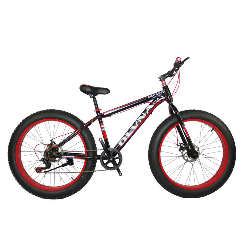 New Pattern 26 Inch 21 Speed Snow Land Aluminium Alloy Large Round A Mountain Country Vehicle Bicycle Snow Land Vehicle