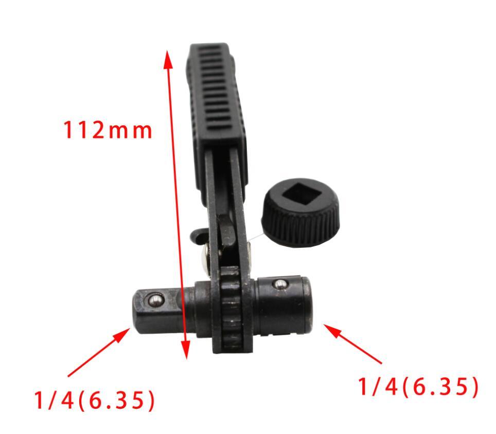 Szybki i łatwy zestaw kluczy z grzechotką mini zatwierdzony przez - Narzędzia ręczne - Zdjęcie 2